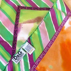 💖 D&G %100 Silk Scarf 💖